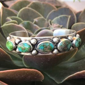 Jewelry - Sonoran Gold Turquoise Sterling Silver Cuff